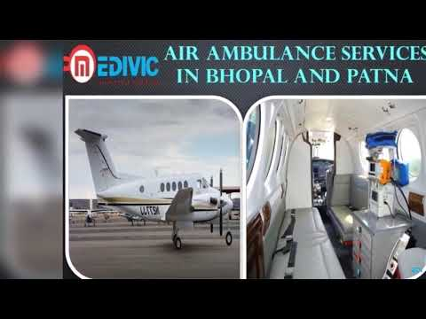 Medivic Air Ambulance Services in Bhopal-Confers Super Active Medical Support