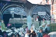 Railway Fields Mural 1980s