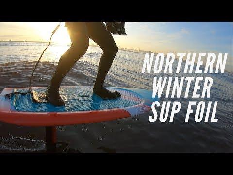 A Northern Winter SUP Foil - (Gong Zuma, Allvator Foil)