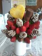 bouquet chocofresas