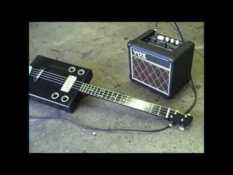 Cigar Box Guitar - Blacksmith Blues - 4 string slide