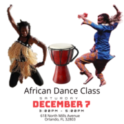 Orlando African Dance Class 15