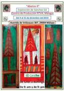 Abetos ll, cartel de la exposición de Francisco Sánchez Gil en. RTVA Málaga. - copia