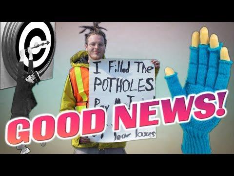 Giving Thanks for Good News - #NewWorldNextWeek