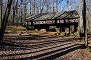 Cantilever barn Greenbrier, November 28 2019