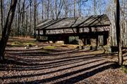 Cantilever barn Greenbrier, November 28 2019