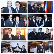 Sandeep Marwah at Exhibition of Crystal Products at Czech Republic