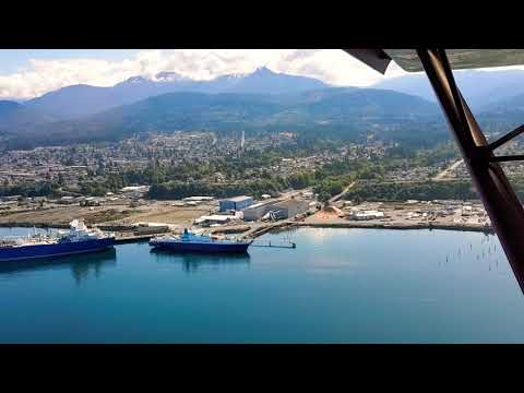 Labor Day flight over Port Angeles, WA