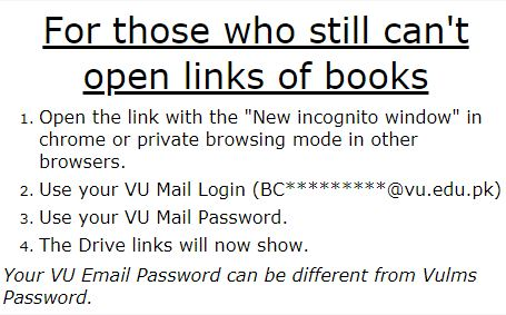 How to open Google Drive Book links