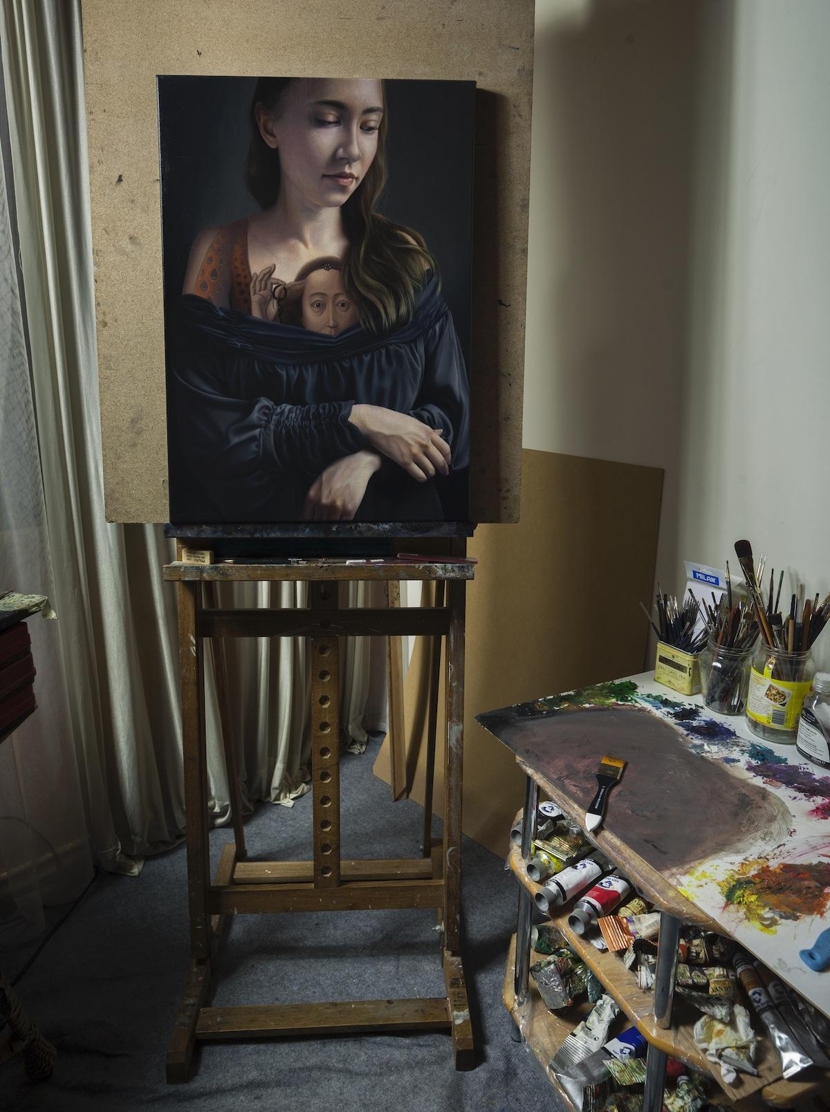 კლასიკა, მხატვრობა, ფერწერა, ბოსხი, ჰოკუსაი, ბოტიჩელი, კარავაჯო, qwelly, art, painting, არტი
