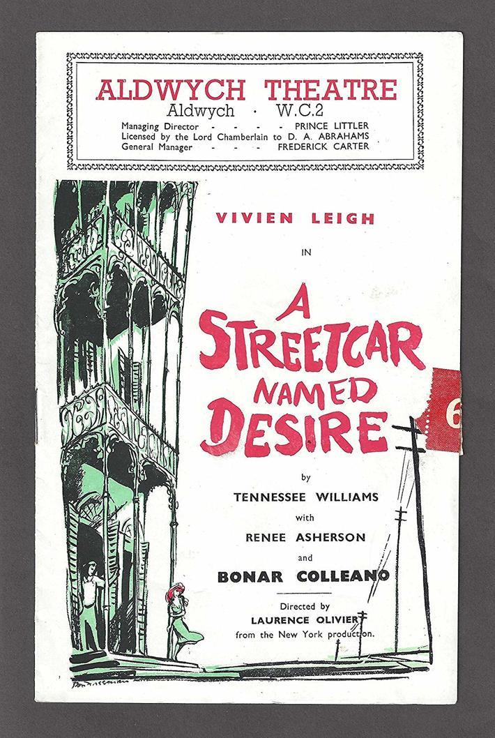 1949 Vivien Leigh SPc London Production of Streetcar