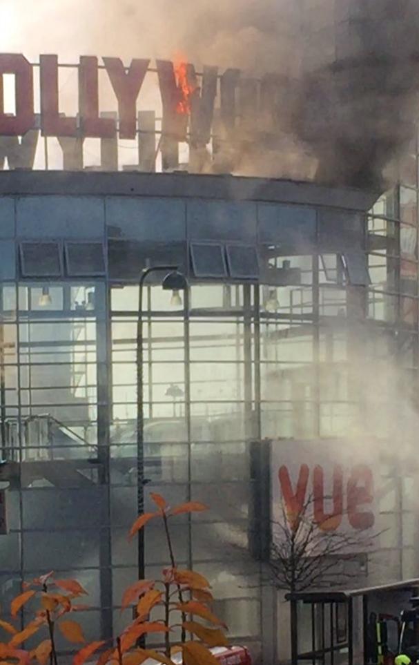 Fire At Vue Cinema Wood Green Harringay Online