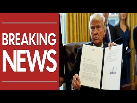 BREAKING: Trump Just Signed The Order – The Date Is Set