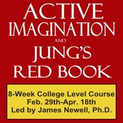 Acitive Imagination and Jung's Red Book - 8-Week College Level Course!