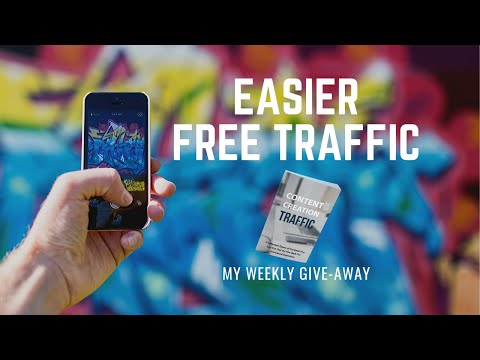 Content Creation Traffic My Weekly Give Away