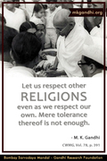 Thought For The Day ( RELIGION )