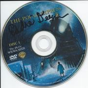 Polar Express DVD disc signed by Eddie Deezen after my train ri