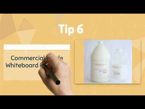 Top 10 Tips for Using Whiteboard Paint