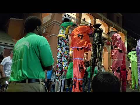 Rising Stars Youth Steel Pan Orchestra and Guardians of the Culture Mocko Jumbies