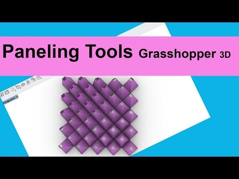 Paneling Tools for Grasshopper 3D