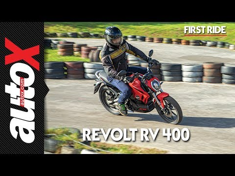Revolt RV 400 First Ride Video Review