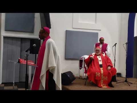 2019 Consecration of Bishop Dr. Joshua Augustus Smith Jr. - The Word of God International University