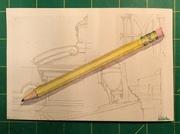 Wonderful pencil painting/drawing by Heide Monster