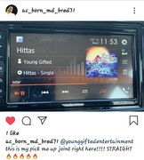 Shout Out To (AC_Born) While Driving In your Car...Check Out The Hit Single Hittas By Young Gifted