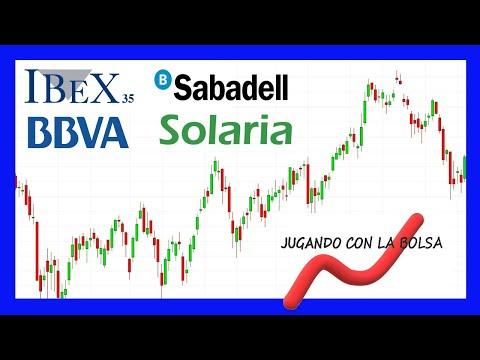 Análisis de Ibex, Bbva, Sabadell y Solaria