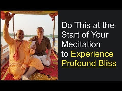 Start Doing This to Have Blissful Meditations