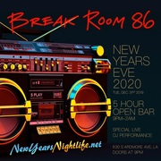 2020 Break Room 86 New Year's Eve Party Tickets