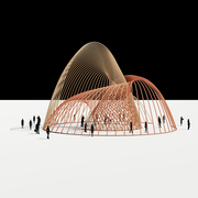 Catenary Structure Pavilion