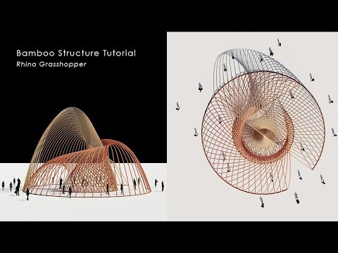 [Tutorial] Rhino_Grasshopper Catenary Structure Tutorial
