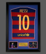 MESSI SIGNED BARCELONA SHIRT