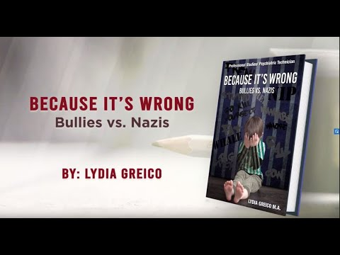 Because It's Wrong: Bullies vs. Nazis by Lydia Greico Book Trailer