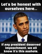 Impeaching The Wrong President