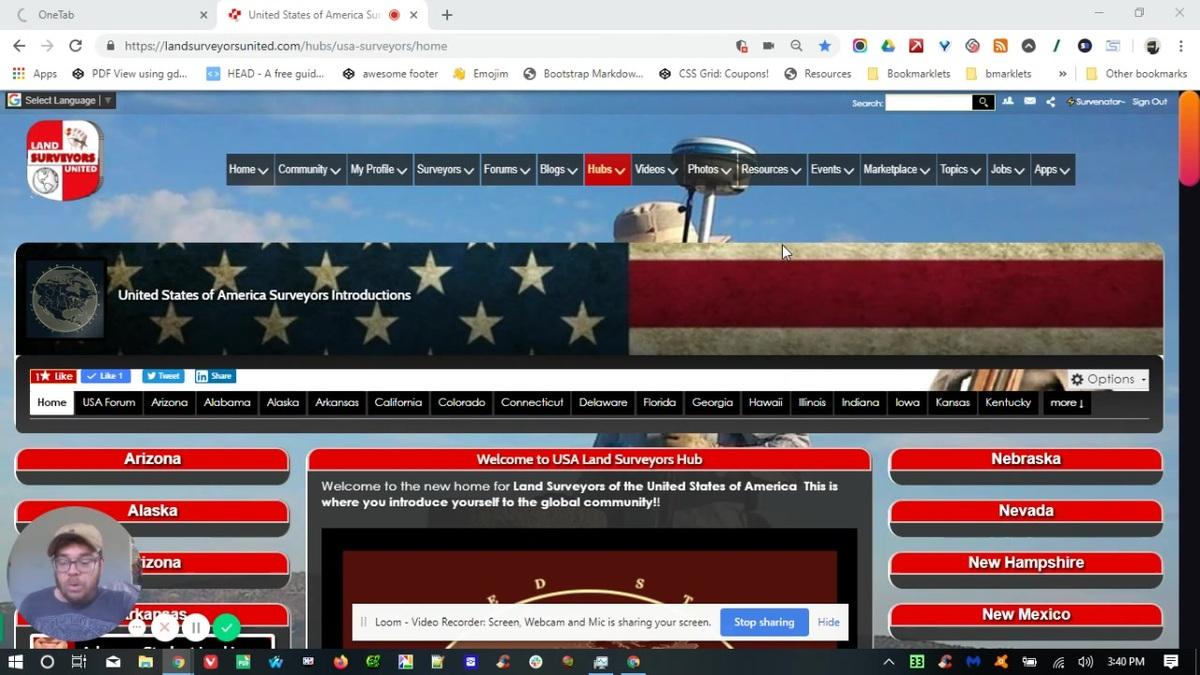 USA Land Surveyors Hub Introductions