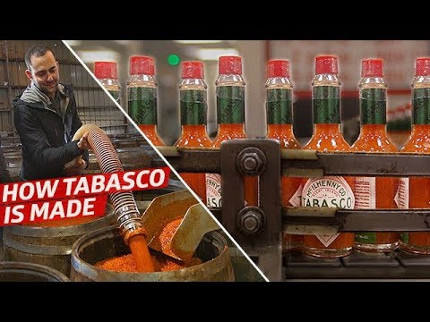 How the Tabasco Factory Makes 700,000 Bottles of Hot Sauce Per Day