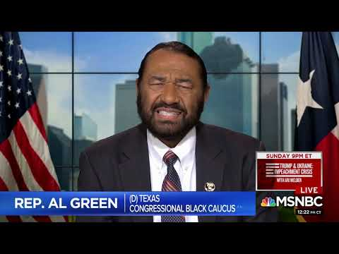 """Rep Al Green Says Impeachment Needed """"To Deal With Slavery"""""""