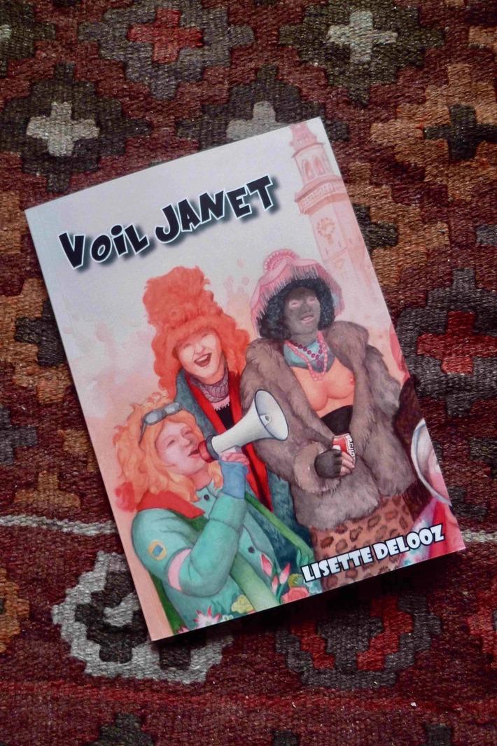 Voil Janet-Dessins Lisette Delooz