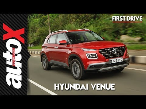 Hyundai Venue First Drive Video Review