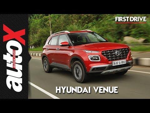 Hyundai Venue First Drive Video Review