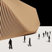 Vertical Louver Facade