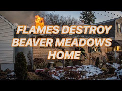 Beaver Meadows, PA House Fire