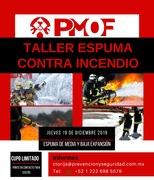 Taller de Espumas Contra Incendio