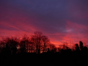 Sunrise over Railway Fields
