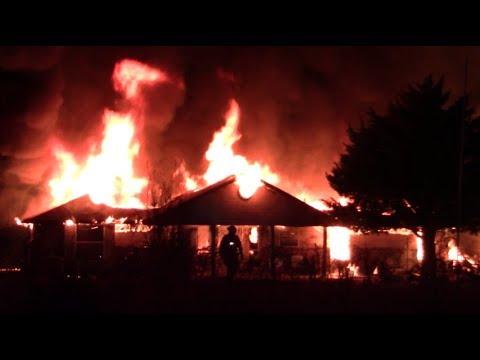 Deer Creek, Oklahoma Structure Fire