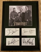 Schindler's List - my new display with Spielberg, Neeson, Kingsley & Fiennes