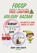 Holiday Tree Lighting and coat drive With Friends of Goffe Street Park & Alder Jill Marks