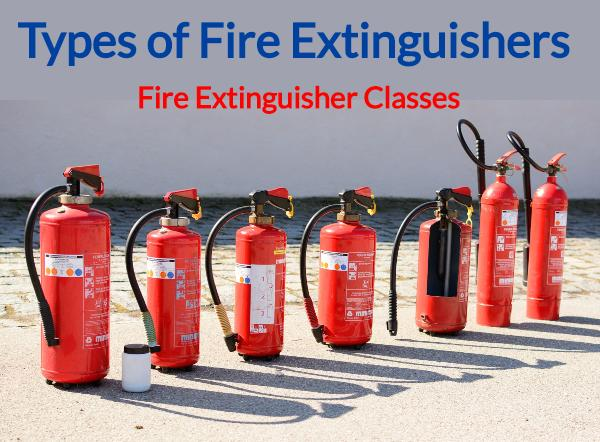 Fire Extinguisher Classes